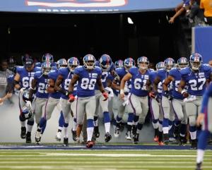 Giants Take the Field